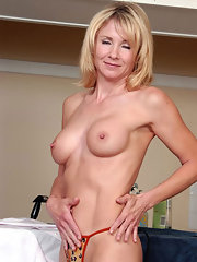 Mature pussy piercing