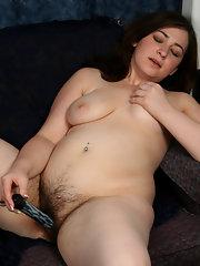 Hairy Chubby Brunette Porn